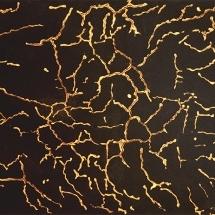 Zwart zand, gouden lijnen1